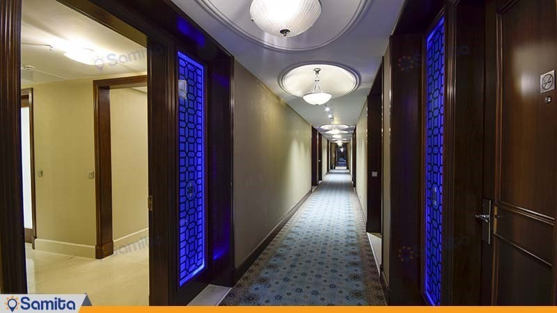 راهرو هتل آنا ارومیه