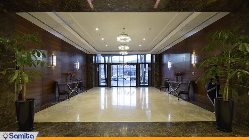 ورودی هتل آنا ارومیه