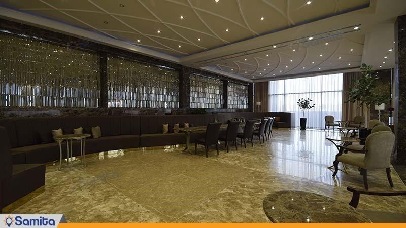 لابی بار لاله زار هتل آنا ارومیه