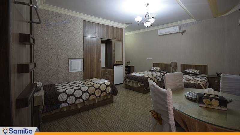 اتاق سه تخته هتل آریا