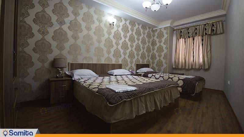سوئیت سه تخته هتل آریا