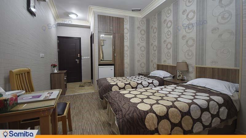 اتاق دو تخته هتل آریا