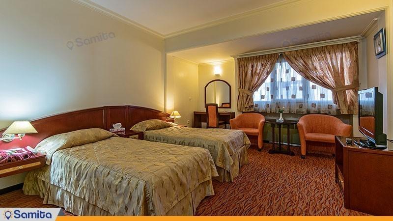 اتاق دو تخته هتل جهانگردی ارومیه