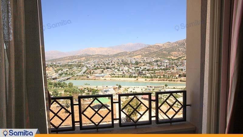 منظره هتل پارسیان آزادی یاسوج
