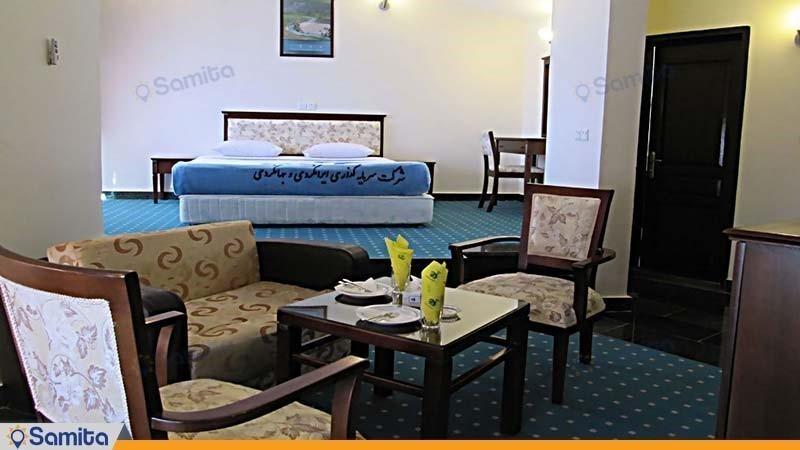 اتاق دبل هتل جهانگردی یاسوج