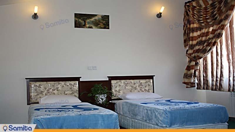 اتاق دو تخته هتل جهانگردی یاسوج