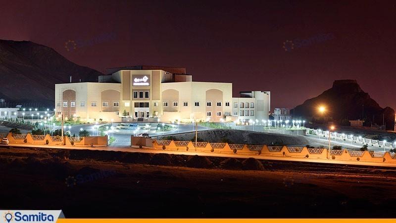 نمای ساختمان هتل ارگ جدید