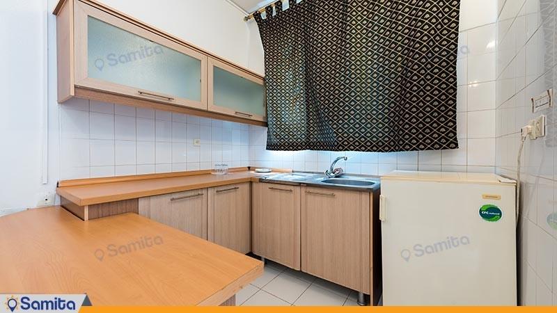 آشپزخانه سوئیت مجتمع اقامتی کاروان