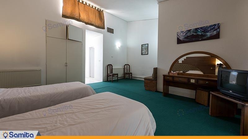 اتاق دو تخته توئین مجتمع اقامتی کاروان