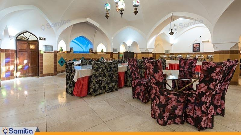 رستوران سنتی ابوالمعالی هتل سنتی فهادان
