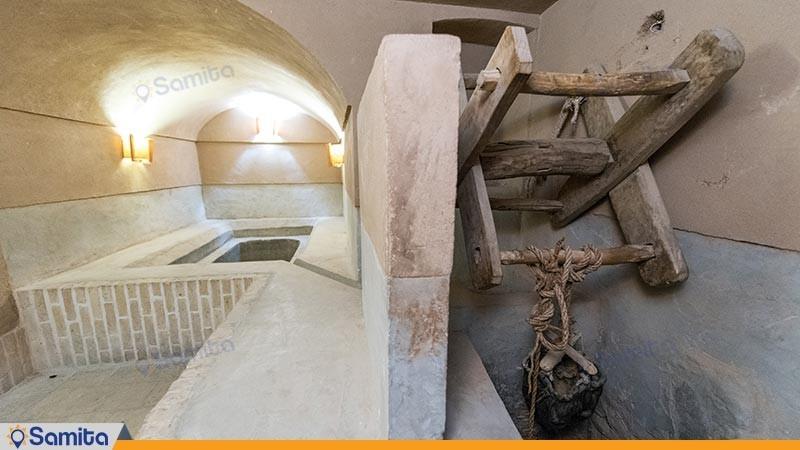 چاه خانه هتل سنتی فهادان