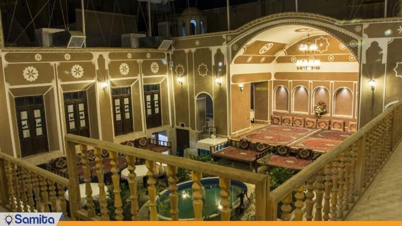 نمای ساختمان هتل فیروزه