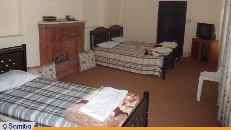 اتاق چهار نفره اقامتگاه بوم گردی خانه خشتی