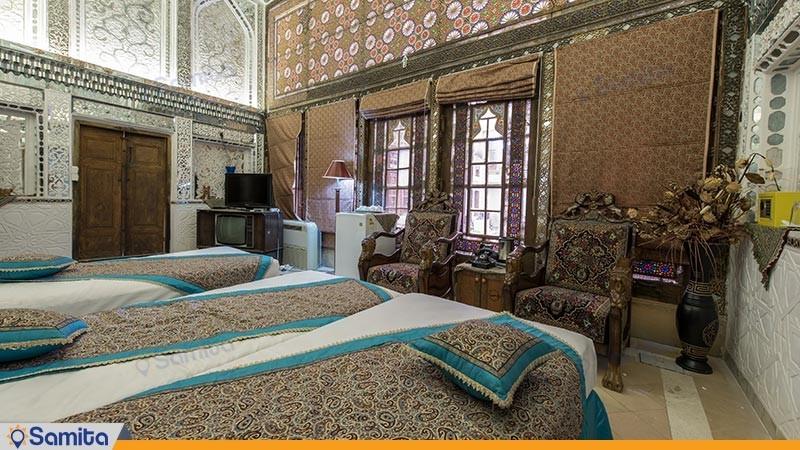 اتاق لیلی و مجنون هتل سنتی ملک التجار