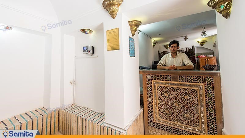 پذیرش هتل سنتی ملک التجار