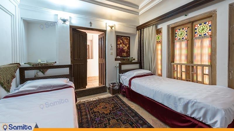 اتاق دو تخته توئین هتل سنتی ملک التجار