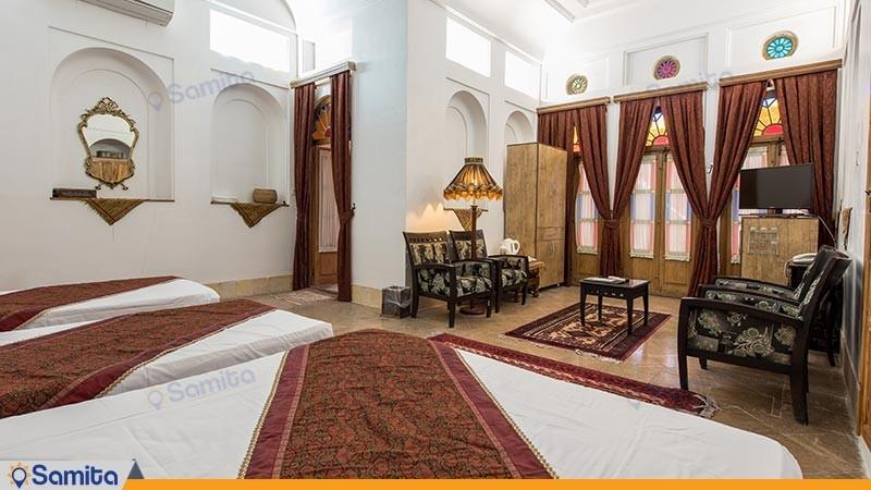 اتاق چهارتخته هتل سنتی مهر