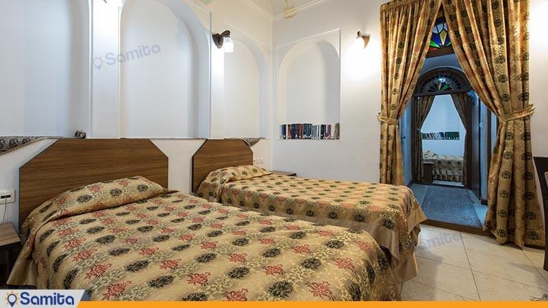 اتاق چهار تخته هتل سنتی مظفر