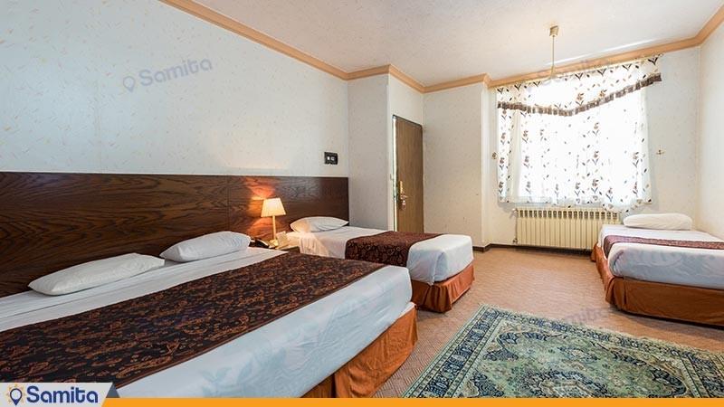 اتاق چهار تخته هتل پارسیان آزادی