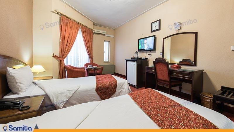 اتاق دو تخته توئین هتل جهانگردی