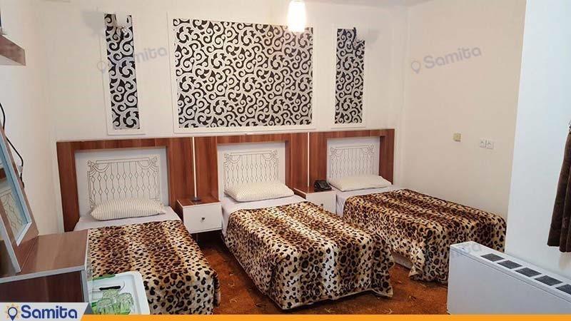 اتاق سه تخته هتل امین زاهدان