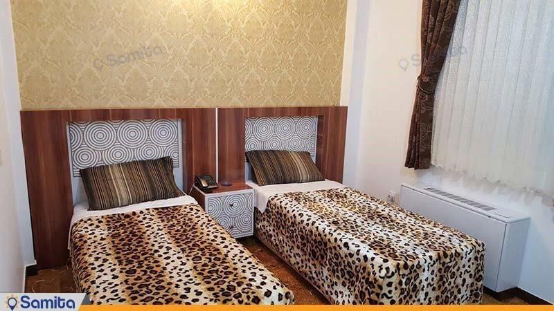 اتاق دو تخته هتل امین زاهدان