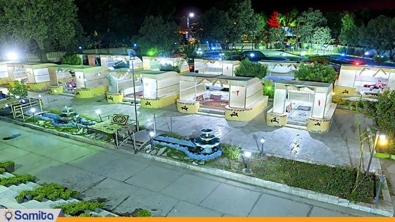 باغ هتل جهانگردی زاهدان