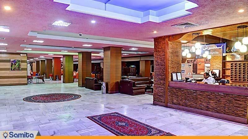 لابی هتل جهانگردی زاهدان