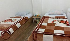 آپارتمان دو خوابه ی چهار نفره