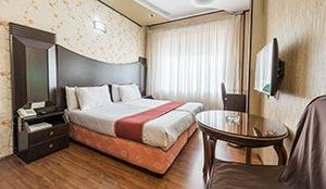 اتاق دو تخته روف گاردن