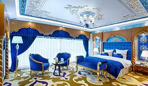اتاق امپریال ایتالیا-ترکیه-عرب برای مهمان خارجی