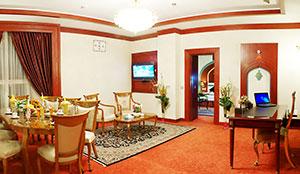 آپارتمان سه خوابه پرزیدنت پنج نفره