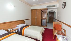 غرفة مزدوجة بسرير التوأم (إقامة كاملة)