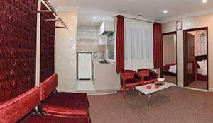 آپارتمان دو خوابه کانکت هشت تخته