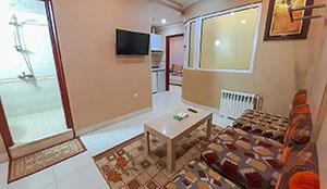 آپارتمان یک خوابه پنج تخته