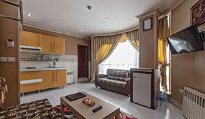 آپارتمان یک خوابه چهار تخته