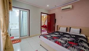 آپارتمان دو خوابه شش تخته جکوزی دار