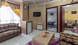 آپارتمان دو خوابه کانکت هفت تخته