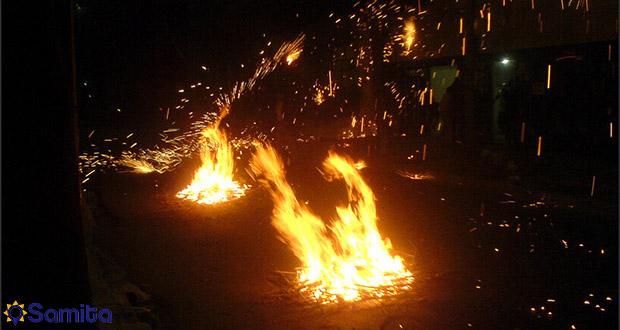 حفلة جهارشنبه سوري ايران