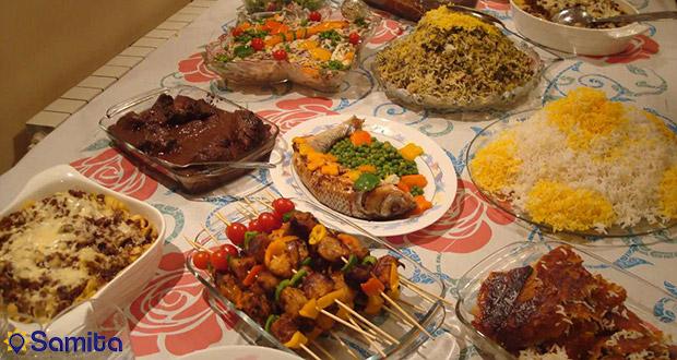 الأطعمة  ايران