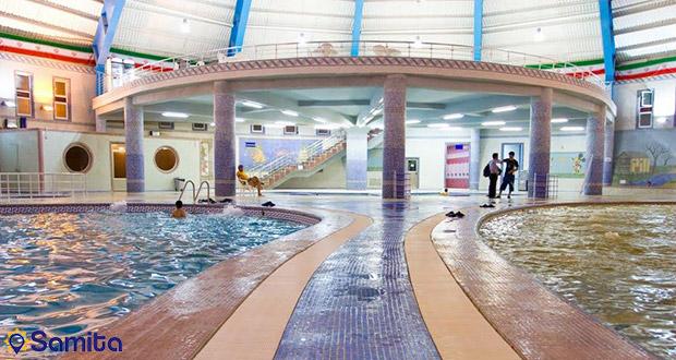 ايران مراكز للعلاج بالمياه