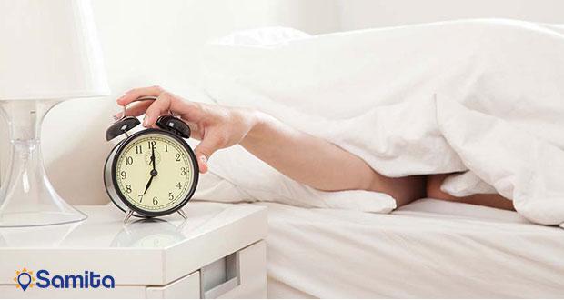 زود از خواب بیدار شدن در هنگام سفر