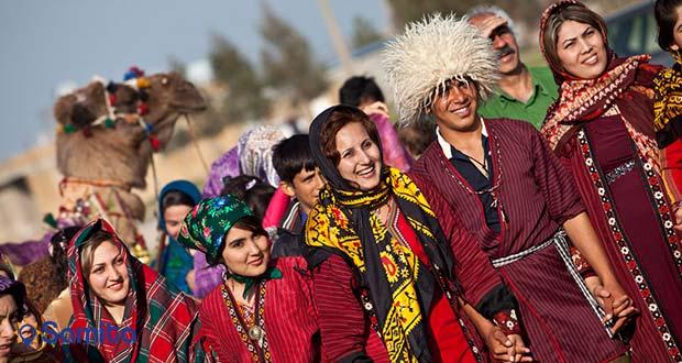 لباس سنتی ترکمن صحرا