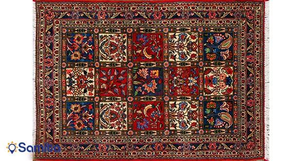 نمونه قالی قدیمی