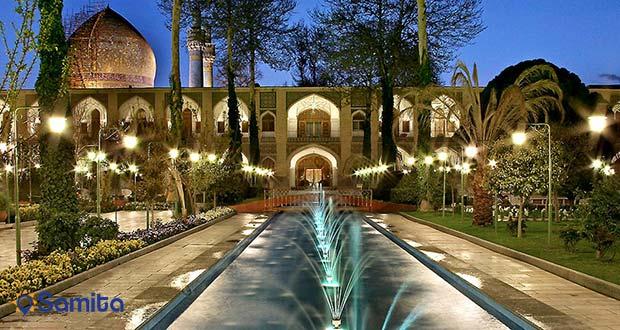 فضای باغ هتل عباسی