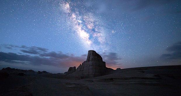 آسمان زیبای کویری