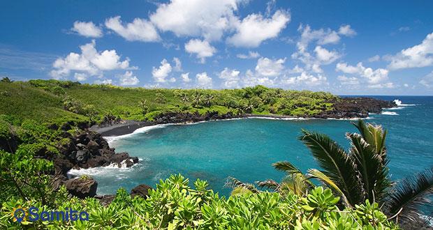 ساحل بلک سند جزیره ماوی