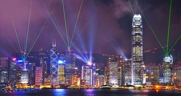 نمای شب هنگ کنگ