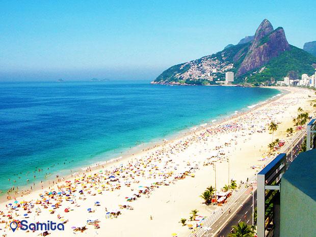ساحل ایپانما، برزیل