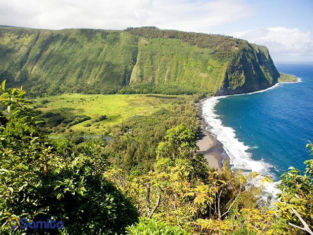 ساحل دره ی وایپیو، جزایر هاوایی آمریکا
